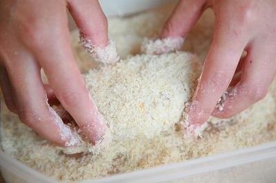 パン粉をまぶす