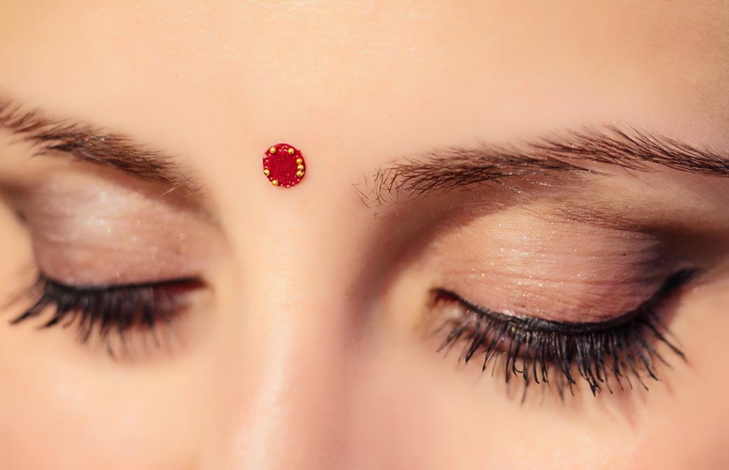 ヒンズー教で使われるビンディー