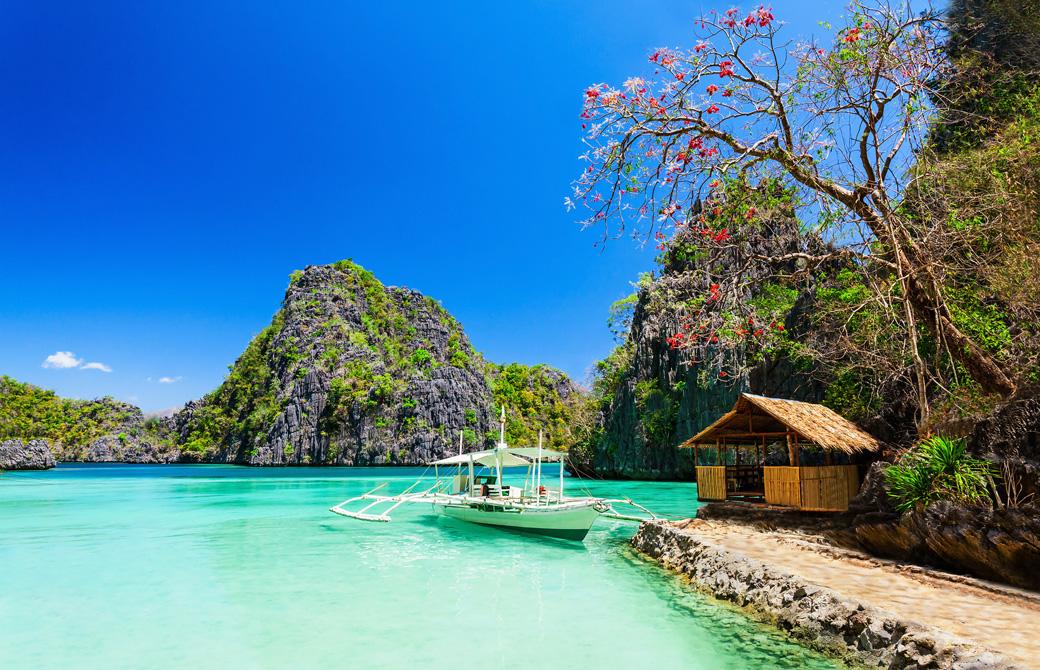フィリピンの美しいビーチ