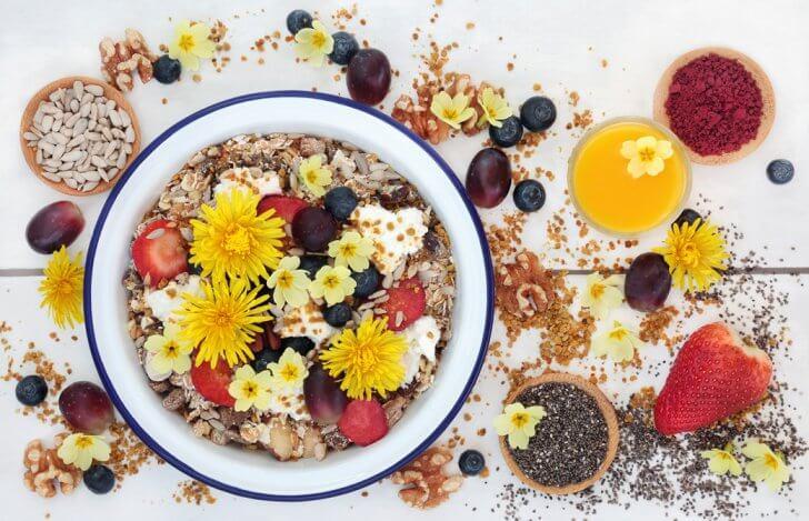 ゆるマクロビ グラノーラの朝ご飯