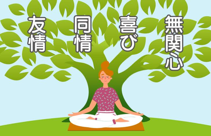 心の状態を穏やかにするための方法