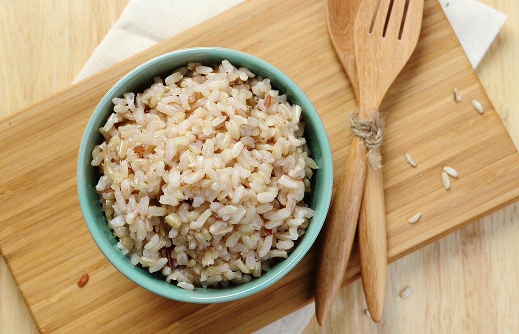美味しいけど、痛い玄米食。