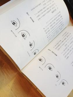 目の形から診断する本を写したもの