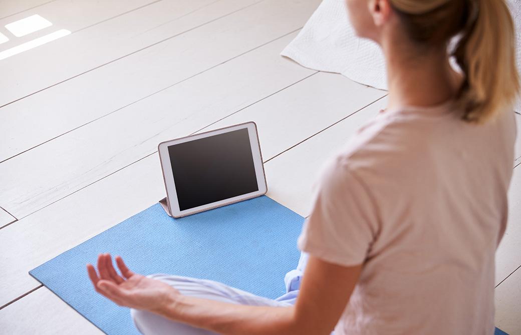 呼吸法(プラナヤマ)の練習のお供に無料アプリはいかが?