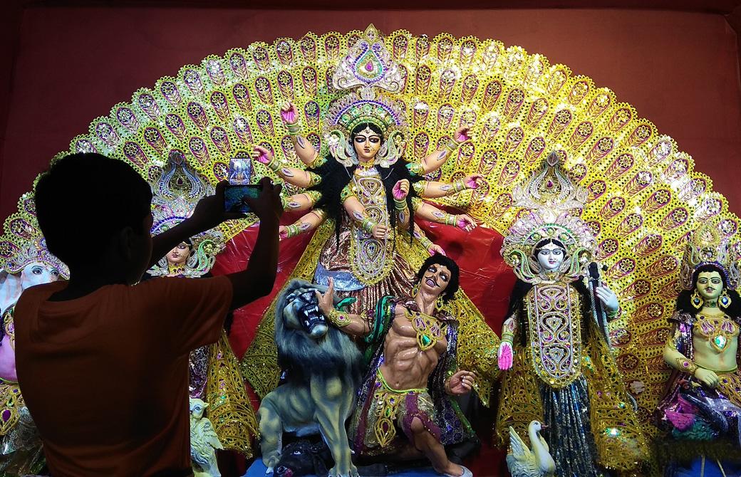 インドでのナヴァラートリのお祭り