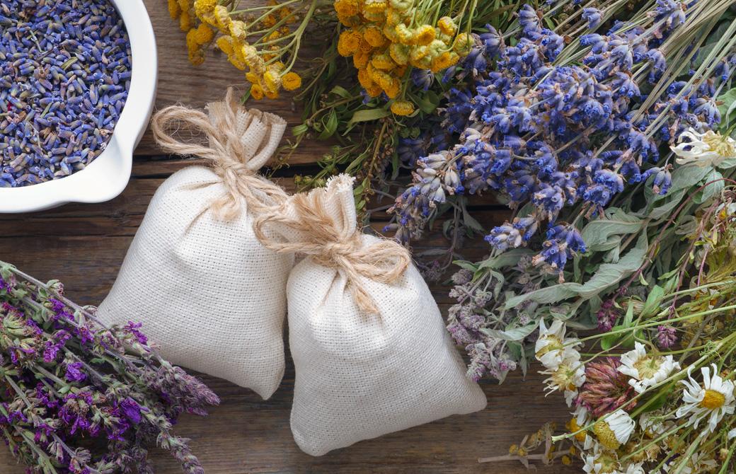 ラベンダーのサシェ(匂い袋)