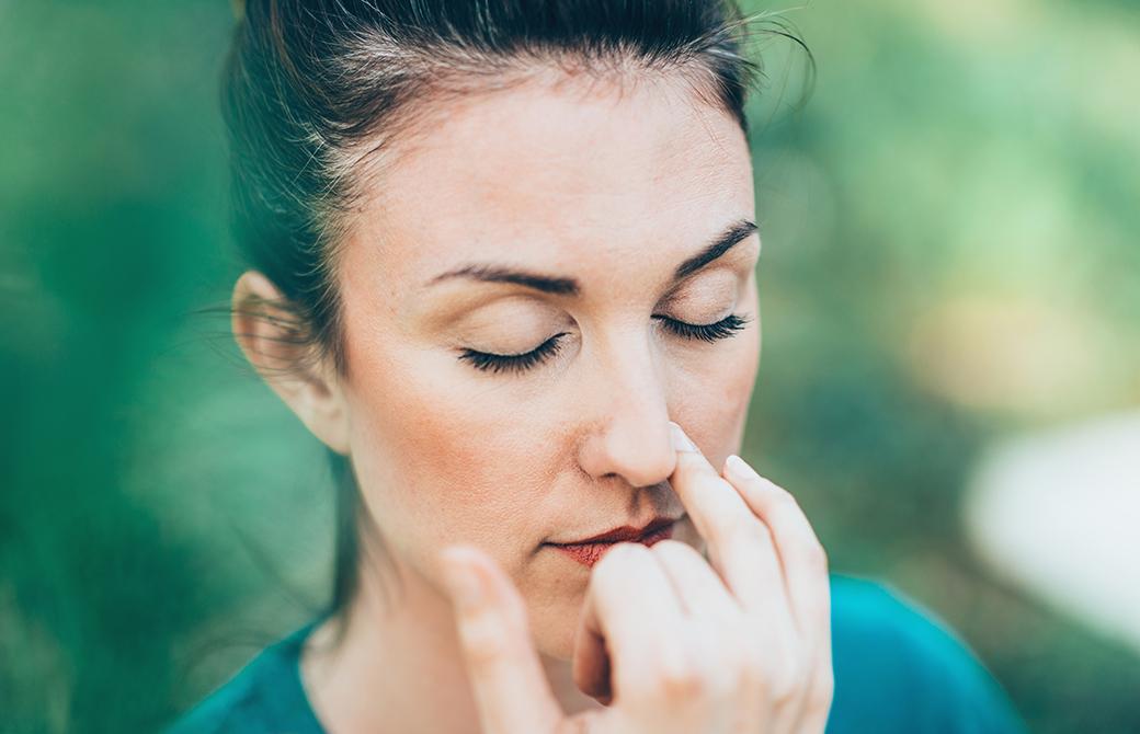 片鼻呼吸をマスターしよう