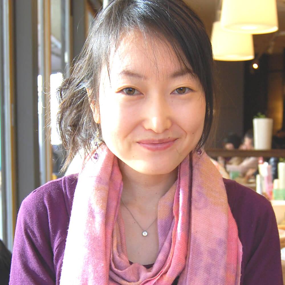 飯野(須永)晃子さん プロフィール写真