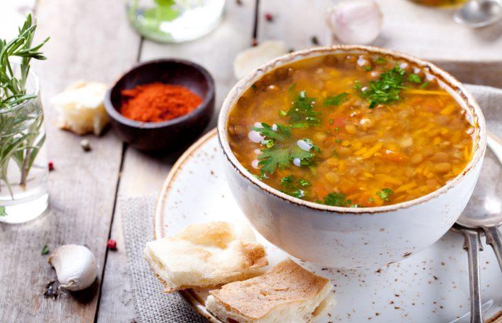レンティル豆のアーユルヴェーダスープ