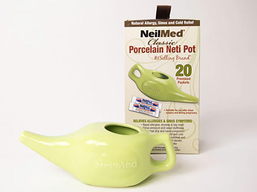 ネティポット(鼻洗浄)