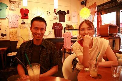 松岡さん(左)、FUMIKOちゃん(右)