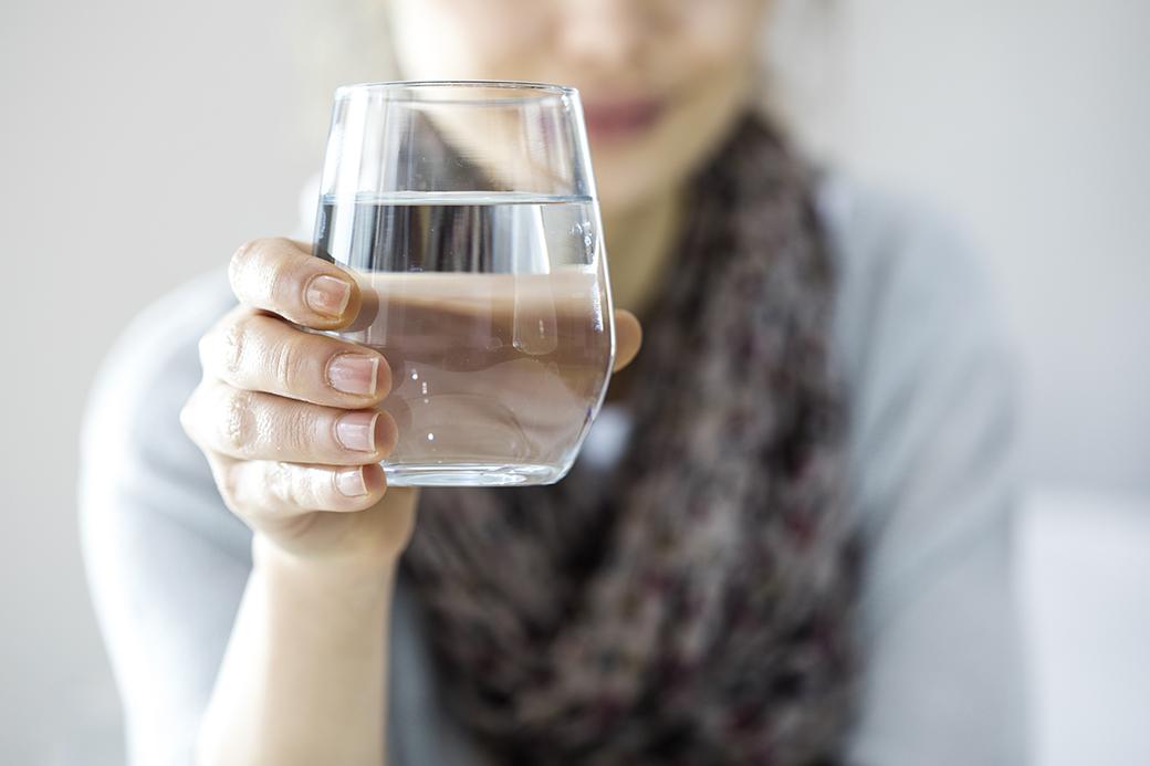 日常生活でも、しっかり水分を取ろう