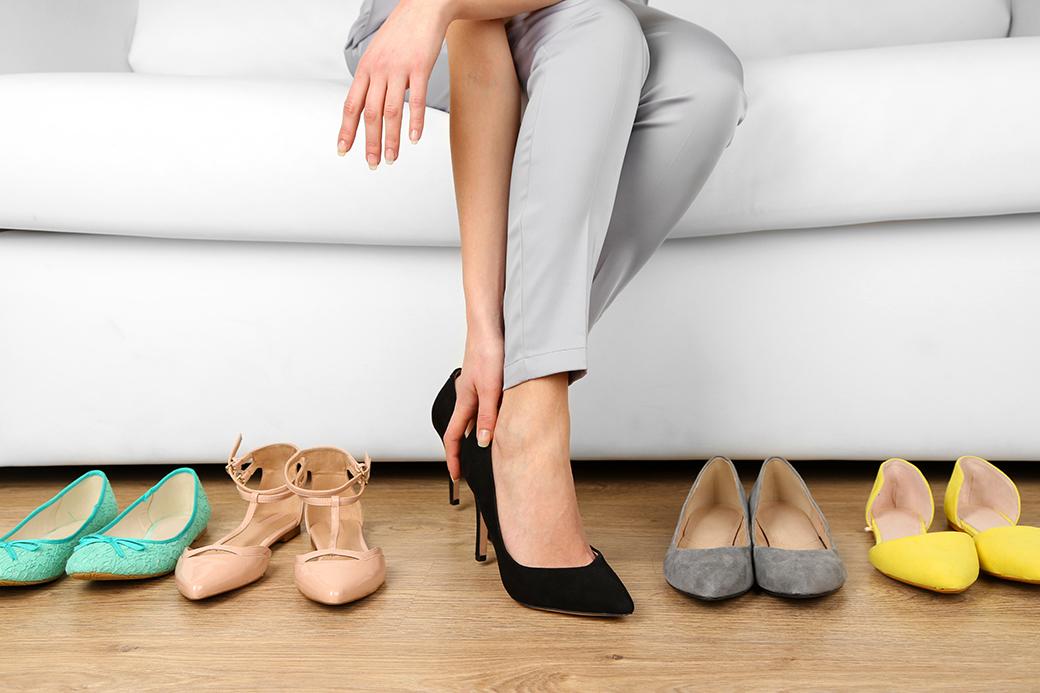 その靴、ちゃんと合ってる?
