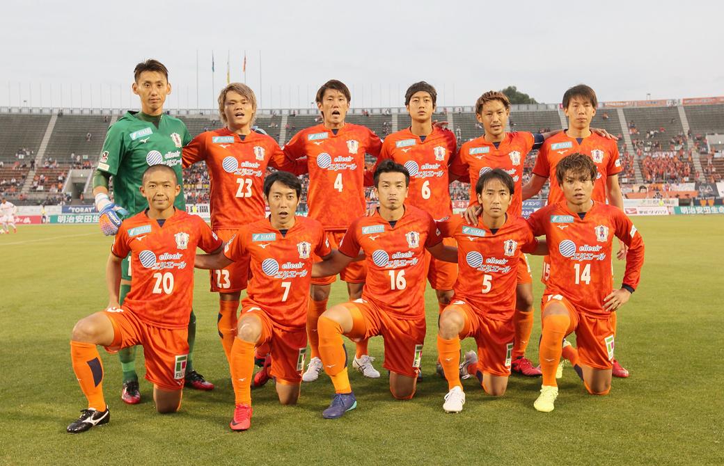 愛媛FCの選手たち