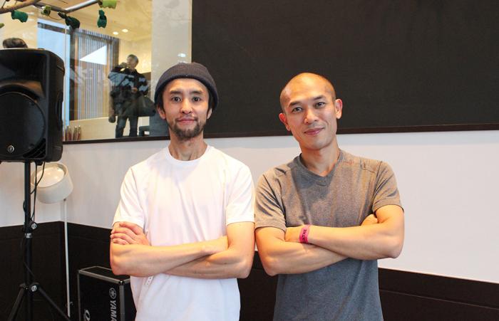 佐藤ゴウ先生&DJ Satoshi Miyaさんの2ショット