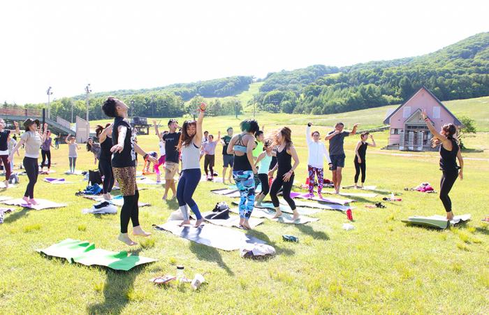 Maiko先生×DJ Miyaさんによる「Yoga Party」