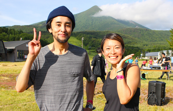 Maiko先生&DJ Miyaさんの2ショット
