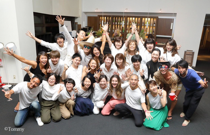 講師陣&Fukushima Yoga Projectスタッフ一同で集合写真