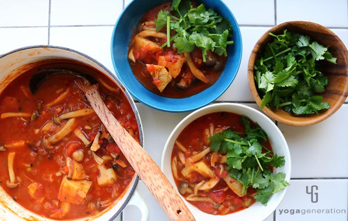 お豆のメキシカン・チリ・スープ