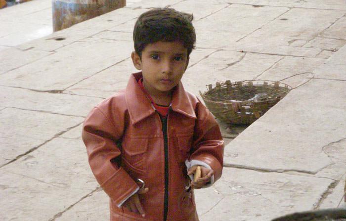 インドの男の子