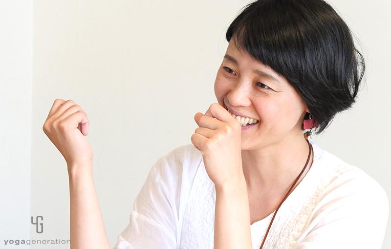 笑顔の山田いずみ先生