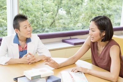 語るサントーシマ香先生と聞く高尾美穂先生