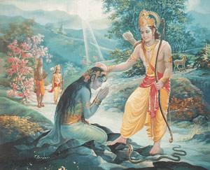 インド神話の絵