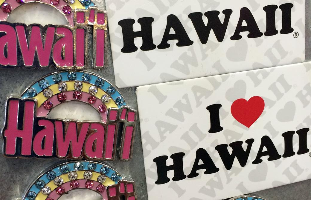 ハワイのマグネットのお土産