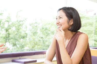 笑顔のサントーシマ香先生