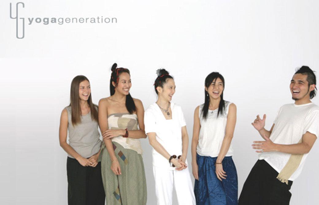 2008年ころのヨガジェネレーションの写真