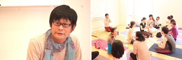 内田かつのり先生と講座風景