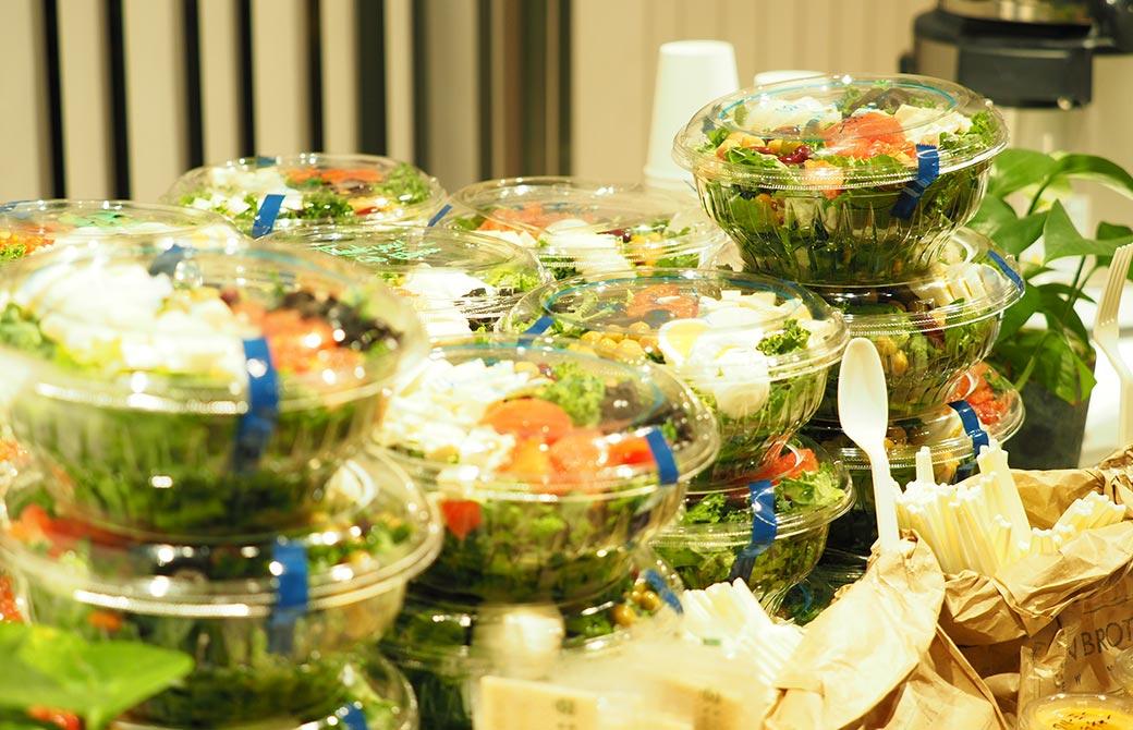Green Brothersのサラダ
