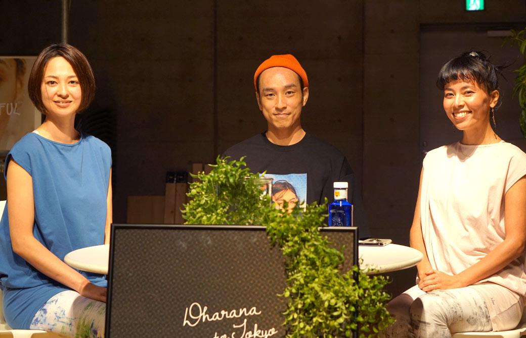 左から山口つぐみ先生、真ん中野村賢吾先生、右渋木さやか先生