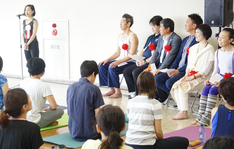 狛江市ヨガ協会創立披露会