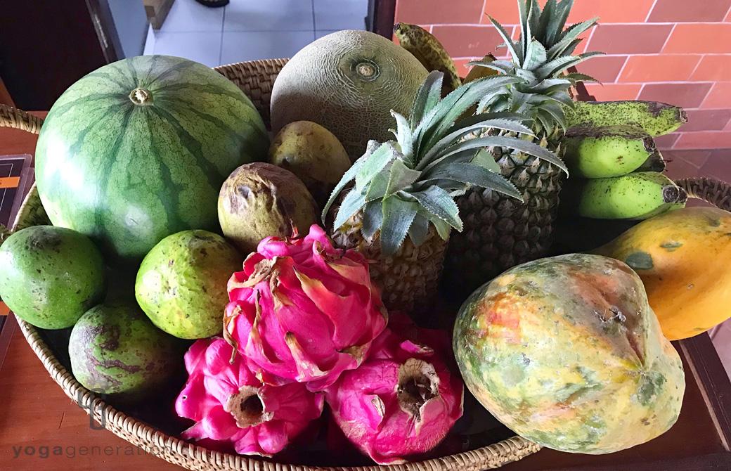フレッシュな南国のフルーツたち