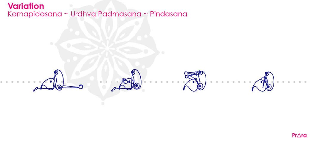 アシュタンガでは『カルナピーダアサナ』をさらに発展させる