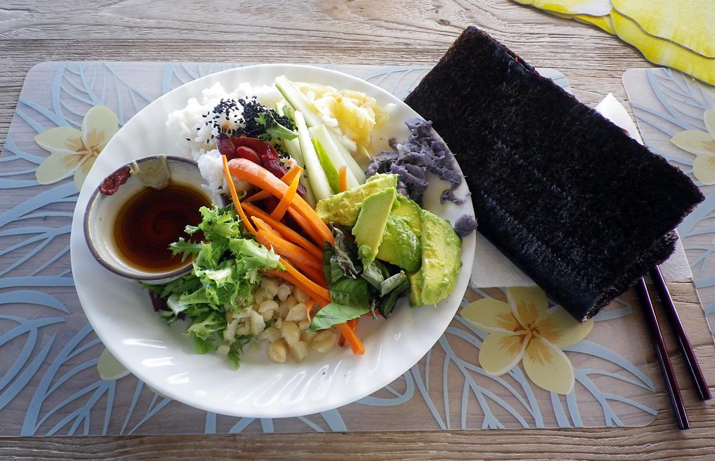 Mahokoのブログ アーユルベーダの手巻き寿司