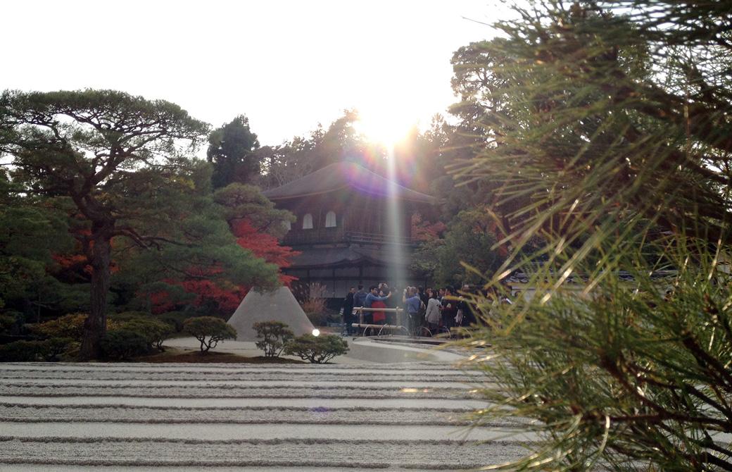 mahokoのブログ 銀閣寺の風景
