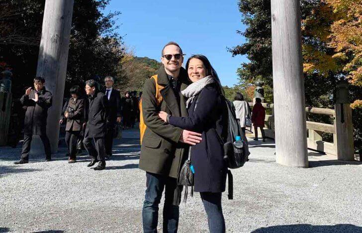 Mahokoのブログ:伊勢神宮内宮で