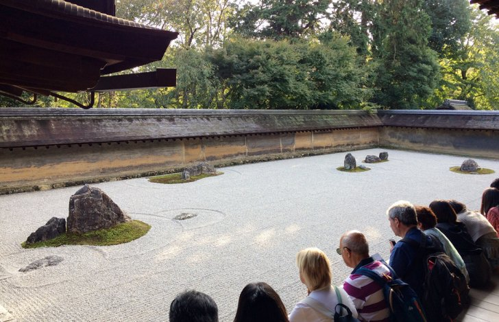 mahokoのブログ 龍安寺の石庭