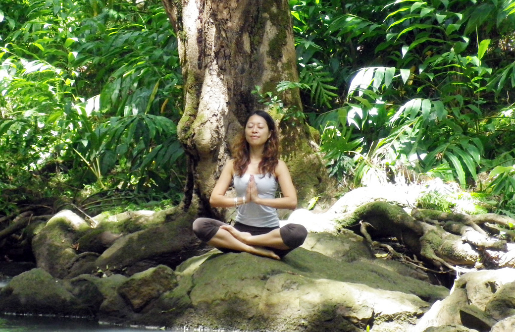 Mahokoのブログ マウイ島での自然の中での瞑想