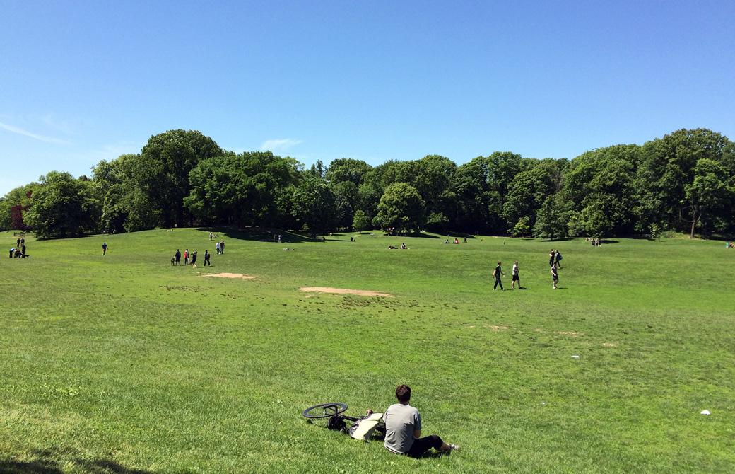 Mahokoのブログ ブルックリンの「プロスペクト・パーク」