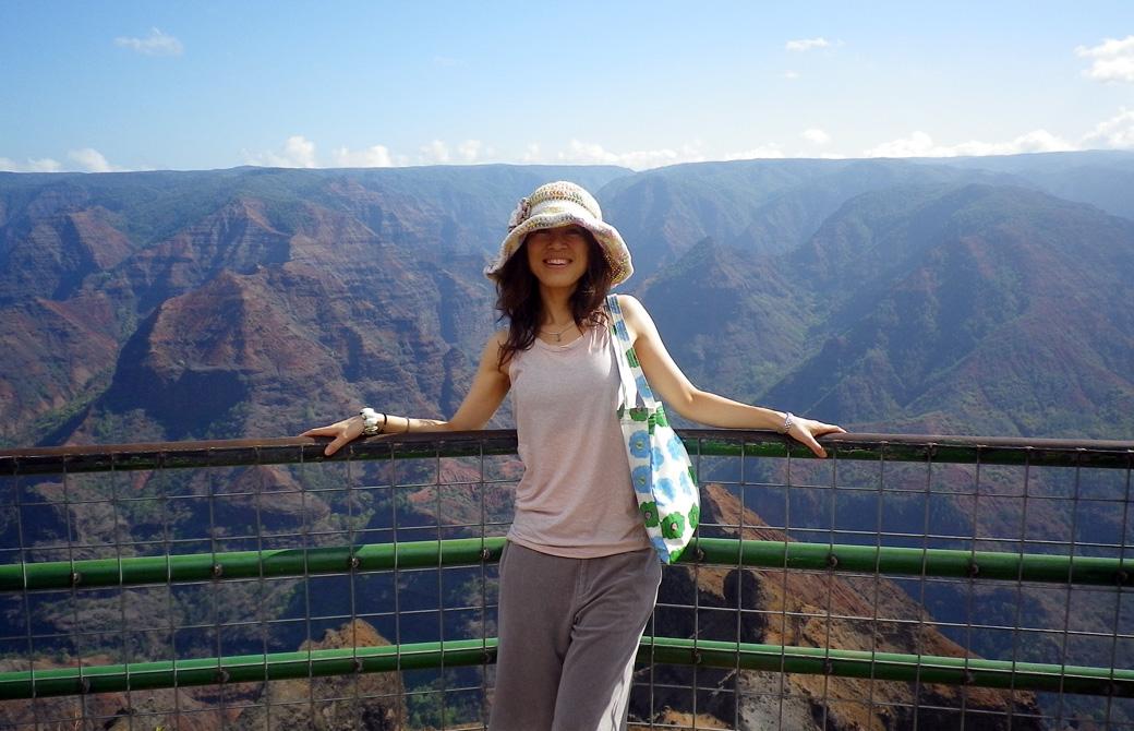 Mahokoのブログ カウアイ島のワイメアキャニオンで
