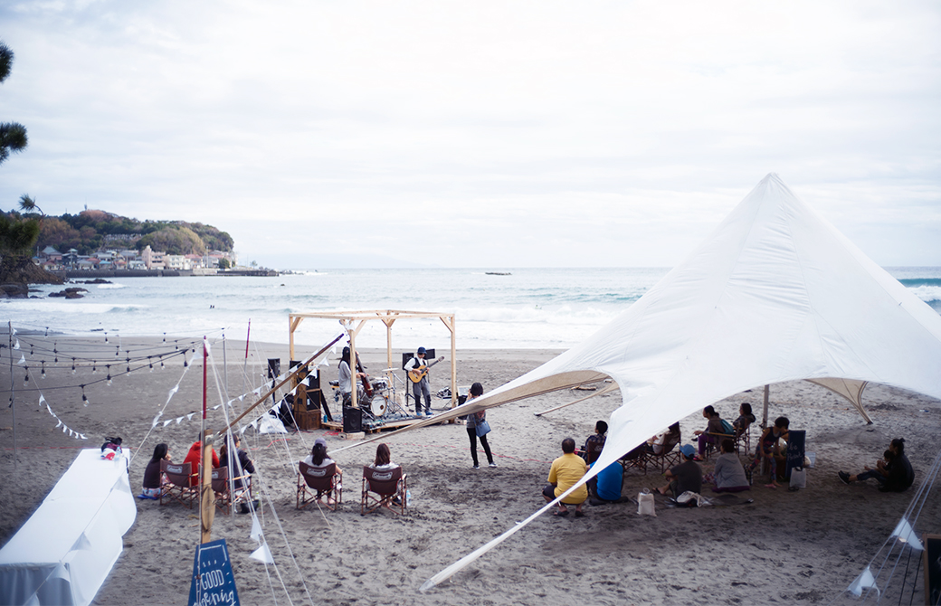 静岡県今井浜。最高のロケーションで開催されます。