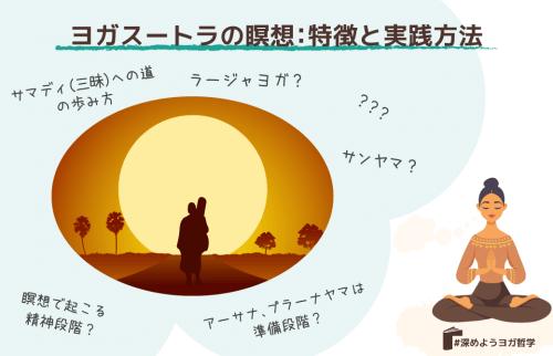 ヨガスートラの瞑想:特徴と実践方法