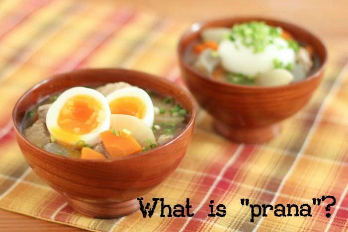 その食べ物、カラダにイイ?プラーナという考え方
