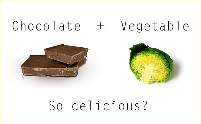 チョコベジ - チョコと野菜の美味しい関係!?