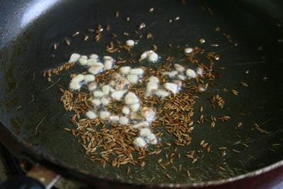 マクロビンディゴビサブジ作り方7