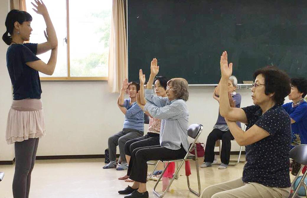 山田いずみ先生クラス風景