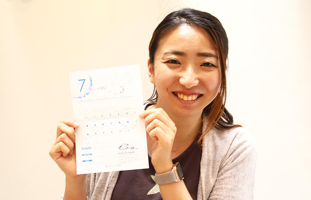 purara×yogagene7月のカレンダー:こまと7月のスケジュール